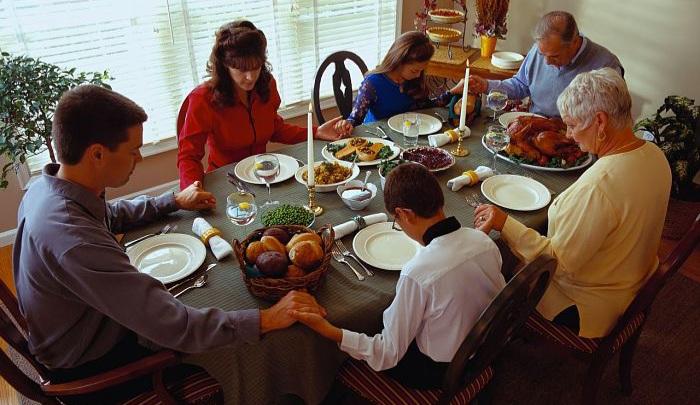 La Oración para después de comer