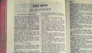 El Libro de los Hechos en la Biblia