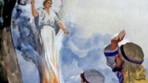 Encuentro del Ángel con los Padres de Sansón