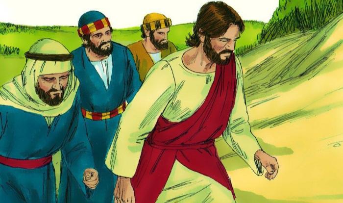 Jesús llega a Jericó