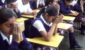 Oración en la escuela