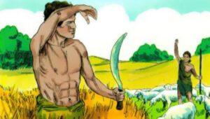 La muerte de Abel en manos de Caín