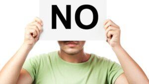 Consecuencias al desobedece cuando Dios dice que No