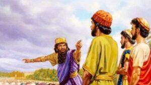 Acusan a Sadrac, Mesac y Abed-nego