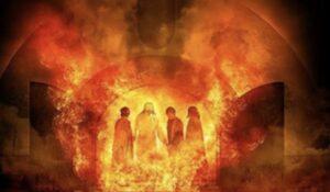 Echan al horno de fuego a Sadrac, Mesac y Abed-nego
