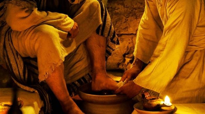 Jesús enseña el valor de la Humildad
