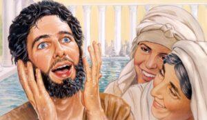 Jesús Sanó al ciego