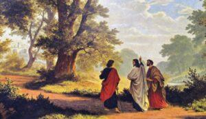 Jesús aparece en el Camino a Emaús