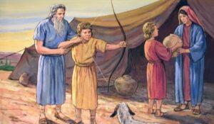 Nacimiento de Jacob y Esau