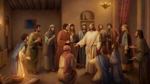 Se abren los Ojos de los Discípulos