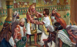 José se reencuentra con Jacob y sus hermanos