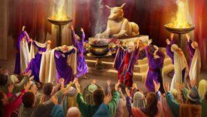 Los Becerros de Oro hechos por el Pueblo de Israel