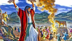 Dios actuó por la Desobediencia de Israel