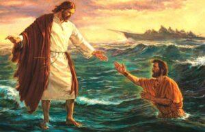 Jesucristo Camina sobre las Aguas Mateo 14:22-33